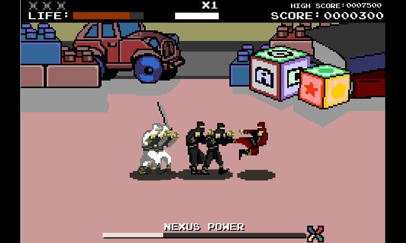 Clash Of The Nexus Ninjas- screenshot