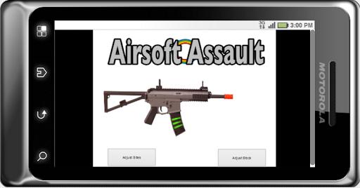Game: Airsoft Auto Gun Sim