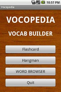 Vocopedia lite- screenshot thumbnail