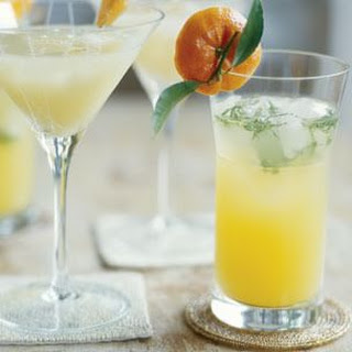 Clementine-Mint Sparkler