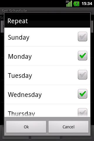 Silence Scheduler Free- screenshot