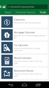 Msn Money Stock Quotes Msn Money  Stock Quotes  Android Apps On Google Play