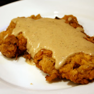 Chicken Fried Steak with Cream Gravy