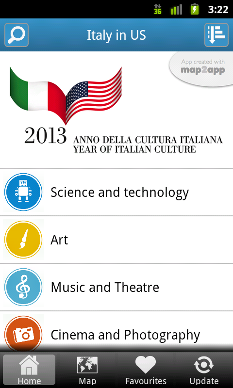 Italy in US 2013 - screenshot