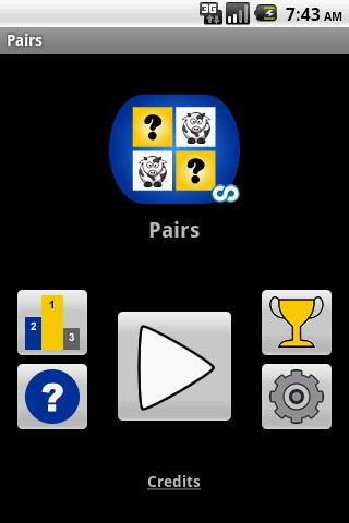 Pairs- screenshot