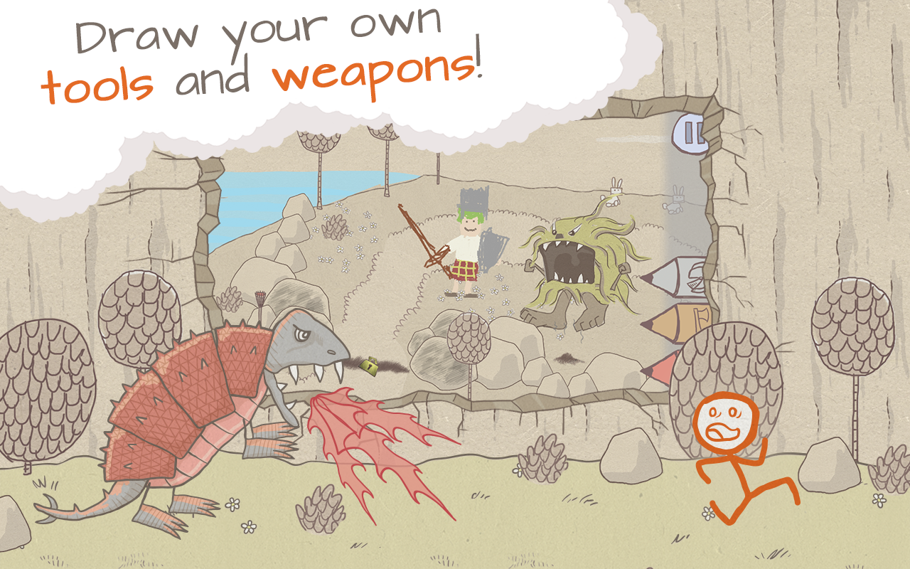 Draw a Stickman: EPIC- screenshot