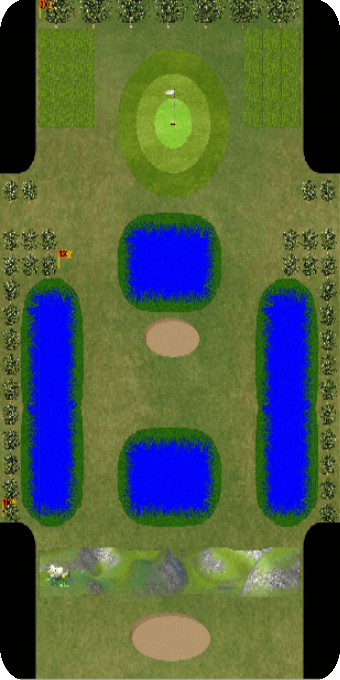 Golf Par 3 Bulls Eye- screenshot
