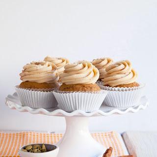 Chai Sweet Potato Cupcakes.