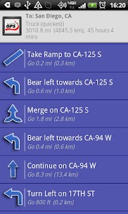 Truck GPS Route Navigation- screenshot thumbnail