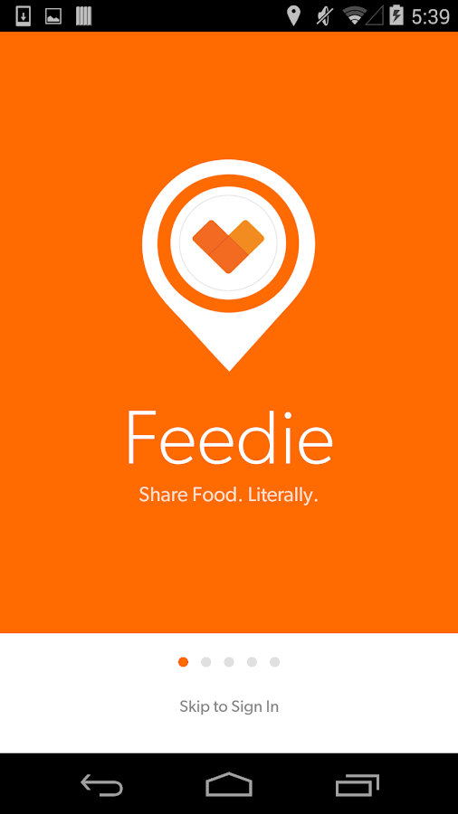 Feedie- screenshot