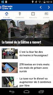 Charente Libre - screenshot thumbnail