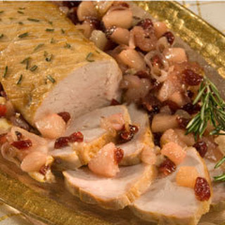 Roasted Holiday Pork With Pears