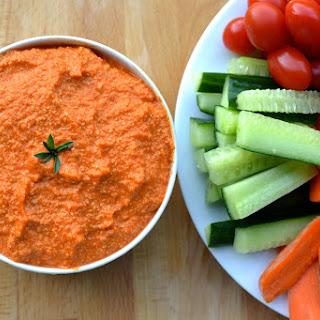 Roasted Red Pepper Dip.
