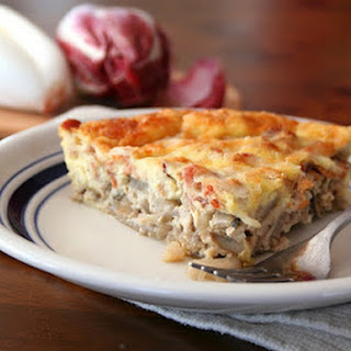 Bacon, Gruyere and Endive Quiche