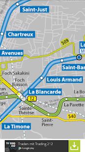 Marseille Public Transport - náhled