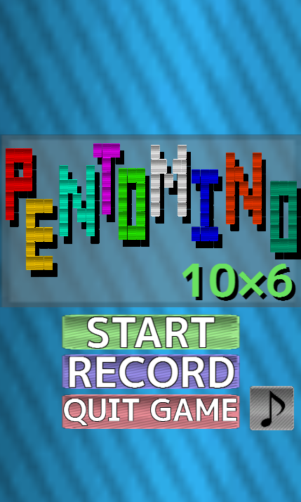 PENTOMINO 10x6- screenshot