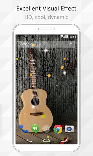 Guitars Live Wallpaper