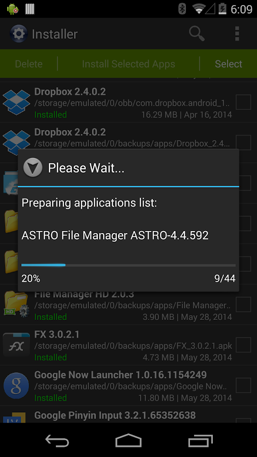 Installer - Install APK- screenshot