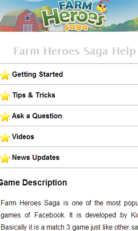 Farm Heroes Saga Help - screenshot