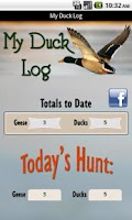 Screenshot of My Duck Log