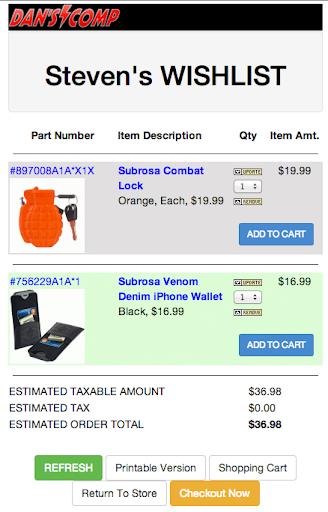 【免費購物App】Danscomp Wishlist-APP點子