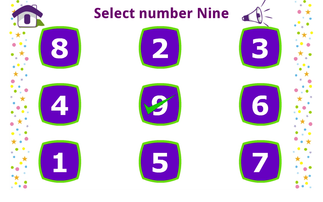 Learn Numbers 1 to 9- screenshot