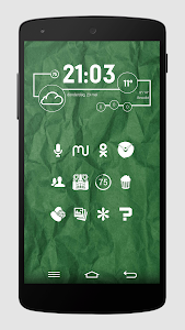 Whicons - White Icon Pack v3.6.2