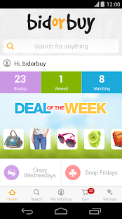 bidorbuy online shopping- screenshot thumbnail