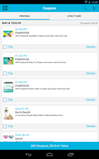 Coupons.com Coupons & Codes - screenshot thumbnail