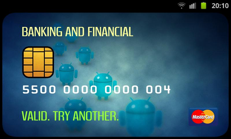 Credit Card Cracker - screenshot