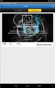 Muy Malos Radio- screenshot thumbnail