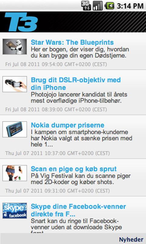 T3 Mobil Free - screenshot