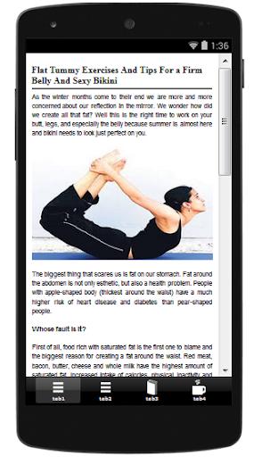 【免費健康App】Flat Tummy-APP點子