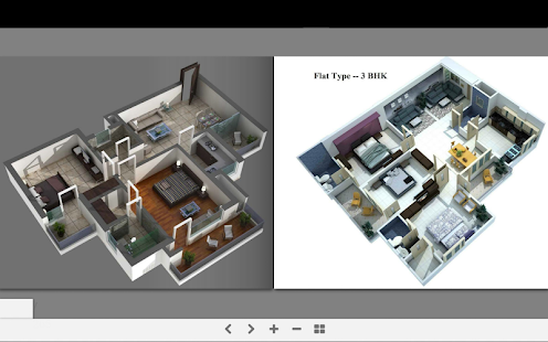 3d Home Plans Screenshot Thumbnail