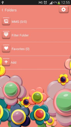 玩免費娛樂APP|下載GO短信加强版五颜六色的鲜花 app不用錢|硬是要APP