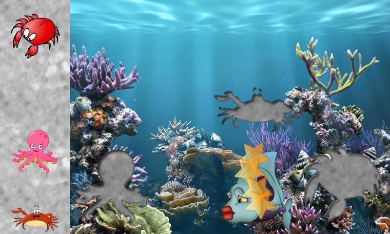 Fishes Puzzles for Toddlers ! - screenshot