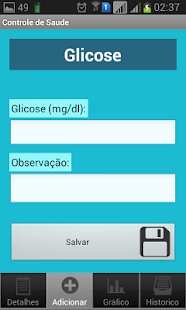 Controle de Saúde - screenshot thumbnail
