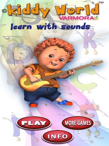 Kiddy World Learn With Sounds