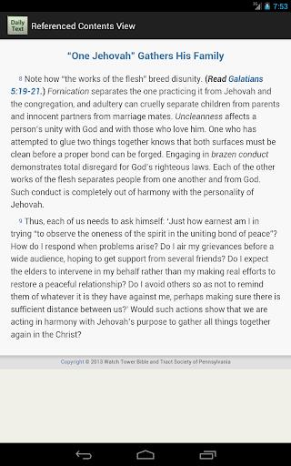 玩免費書籍APP|下載Daily Bible Text 2014 app不用錢|硬是要APP