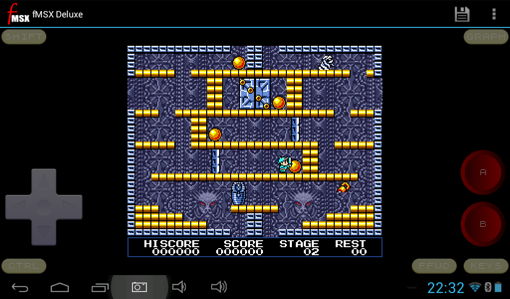 fMSX - Free MSX Emulator - screenshot