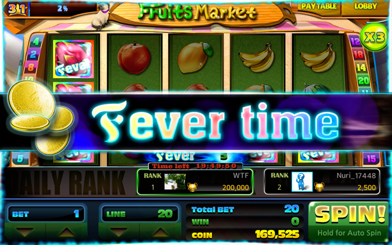 Nuri Slots - Lightning Fever- screenshot