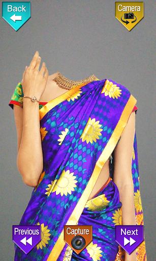 Indian Women Saree Photo Shoot