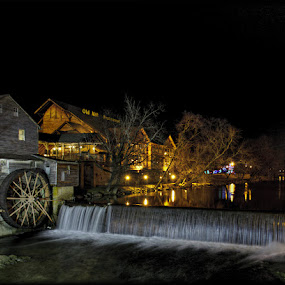 The Old Mill by Larry Landry - Buildings & Architecture Other Exteriors ( southern living, old mill, pigeon forge, tennessee, east tennessee )