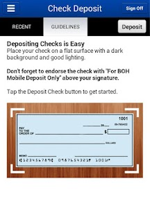 BOH Mobile Banking - screenshot thumbnail