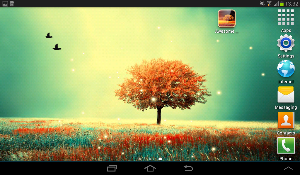 Awesome Wallpapers For Android: Awesome-Land Pro Live Wallpaper