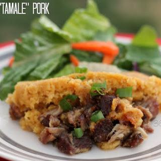 Crockpot Tamale Pie Pork Shoulder