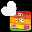 GO SMS - Rainbow 3 icon