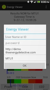 EnergyViewer for TED5000®- screenshot thumbnail