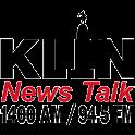 1400 KLIN logo