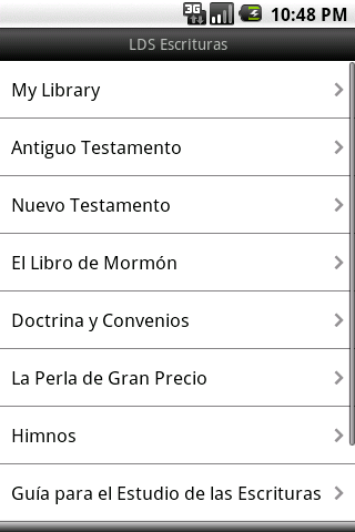 LDS Escrituras - screenshot